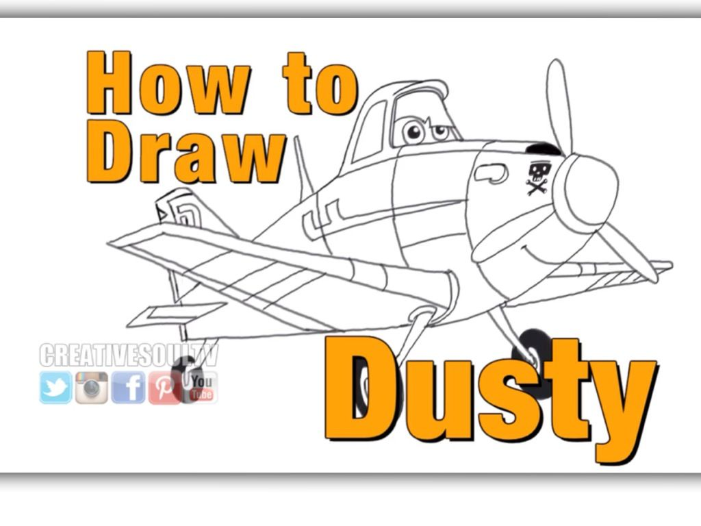 How to draw dusty 40