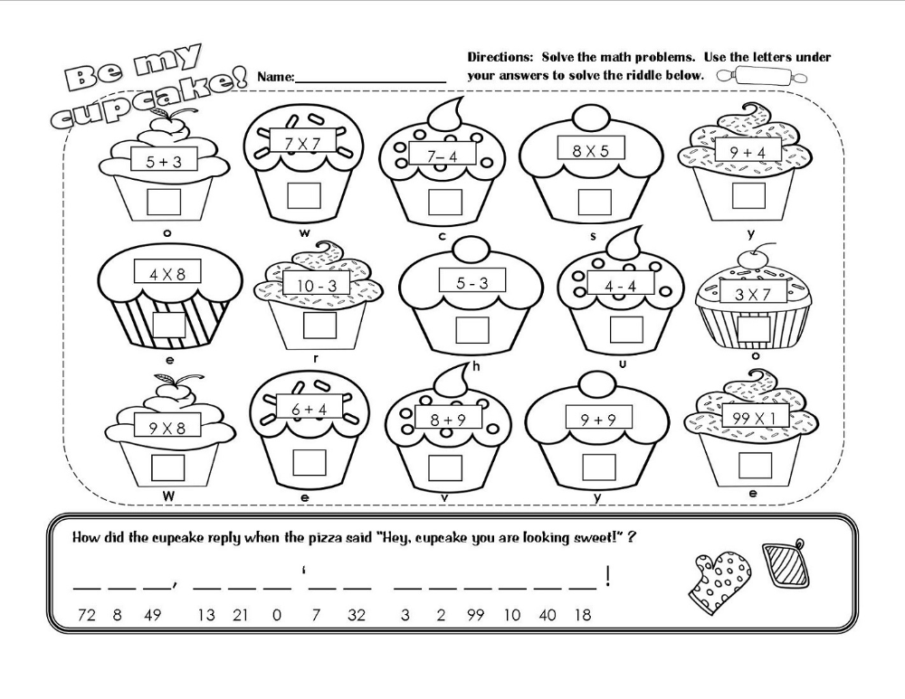 Pin on Math is Fun Worksheets