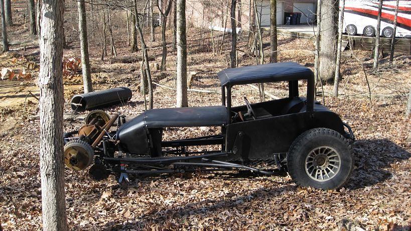 Old Jalopy Dirt Oval Race Car X