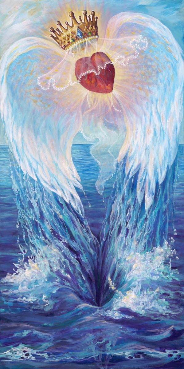 Freedom Heart by Brenda Ferrimani