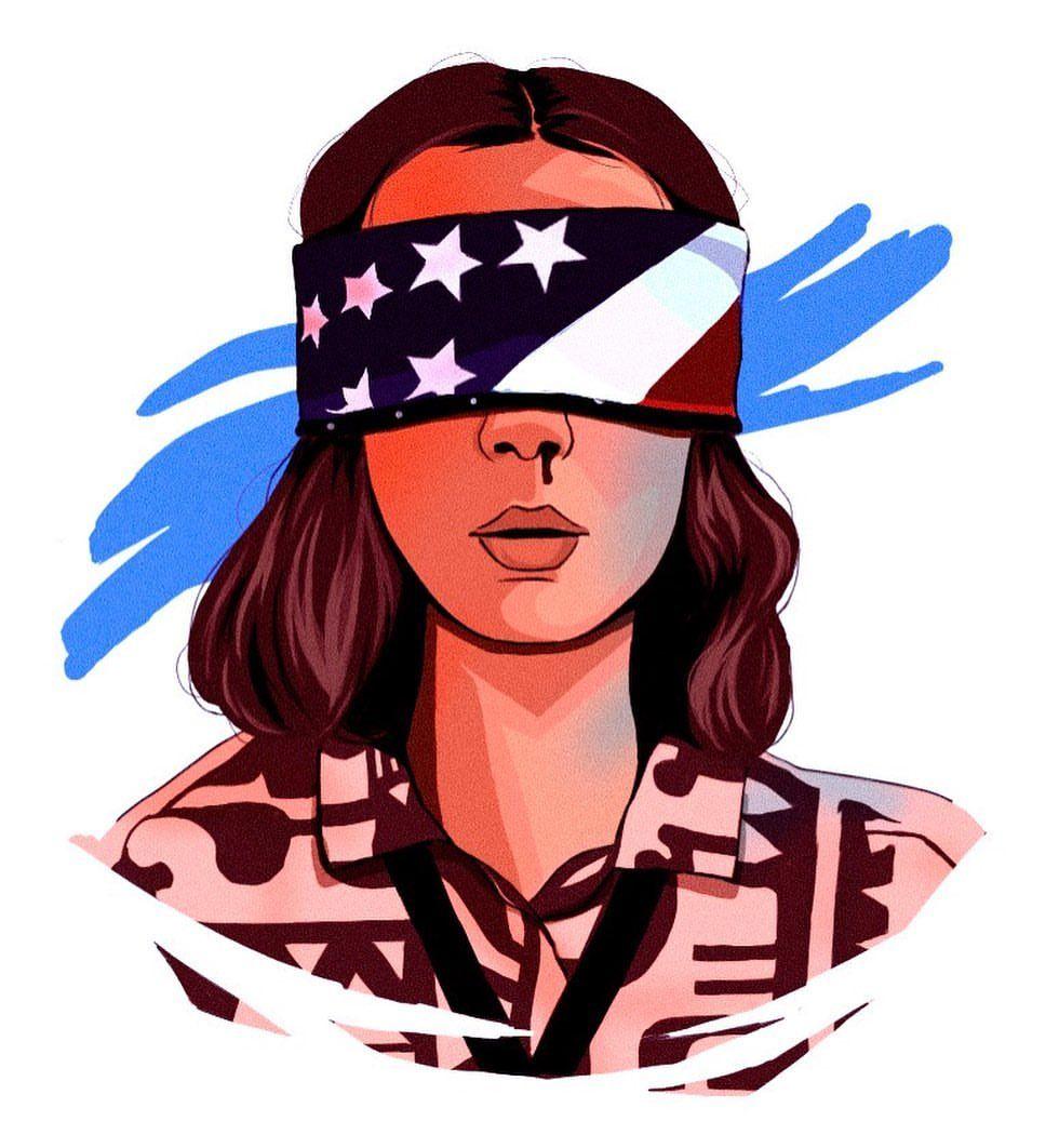 Stranger Things Eleven By Bia Arts Beatriz Millie Bobby Brown Season 3 Fanart Fan Art Desenho Fan Art Imagem De Fundo Fofo Desenhos De Amizade