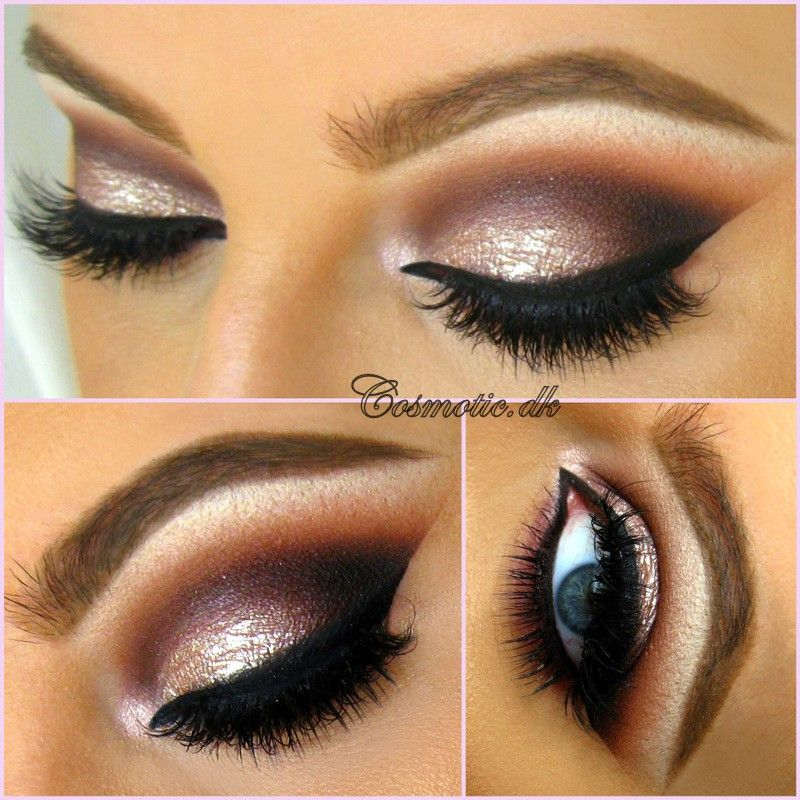 34ada8469e8 Eye makeup. All eyeshadoes are from the Stardust palette from Too Faced and Vegas  Nay