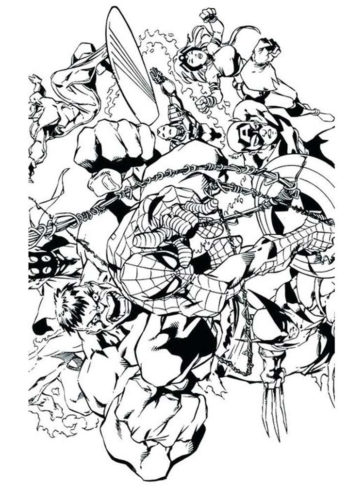 Avengers Coloring Page Printable Below Is A Collection Of Avengers Coloring Page That You Can Downloa Avengers Coloring Pages Avengers Coloring Coloring Pages
