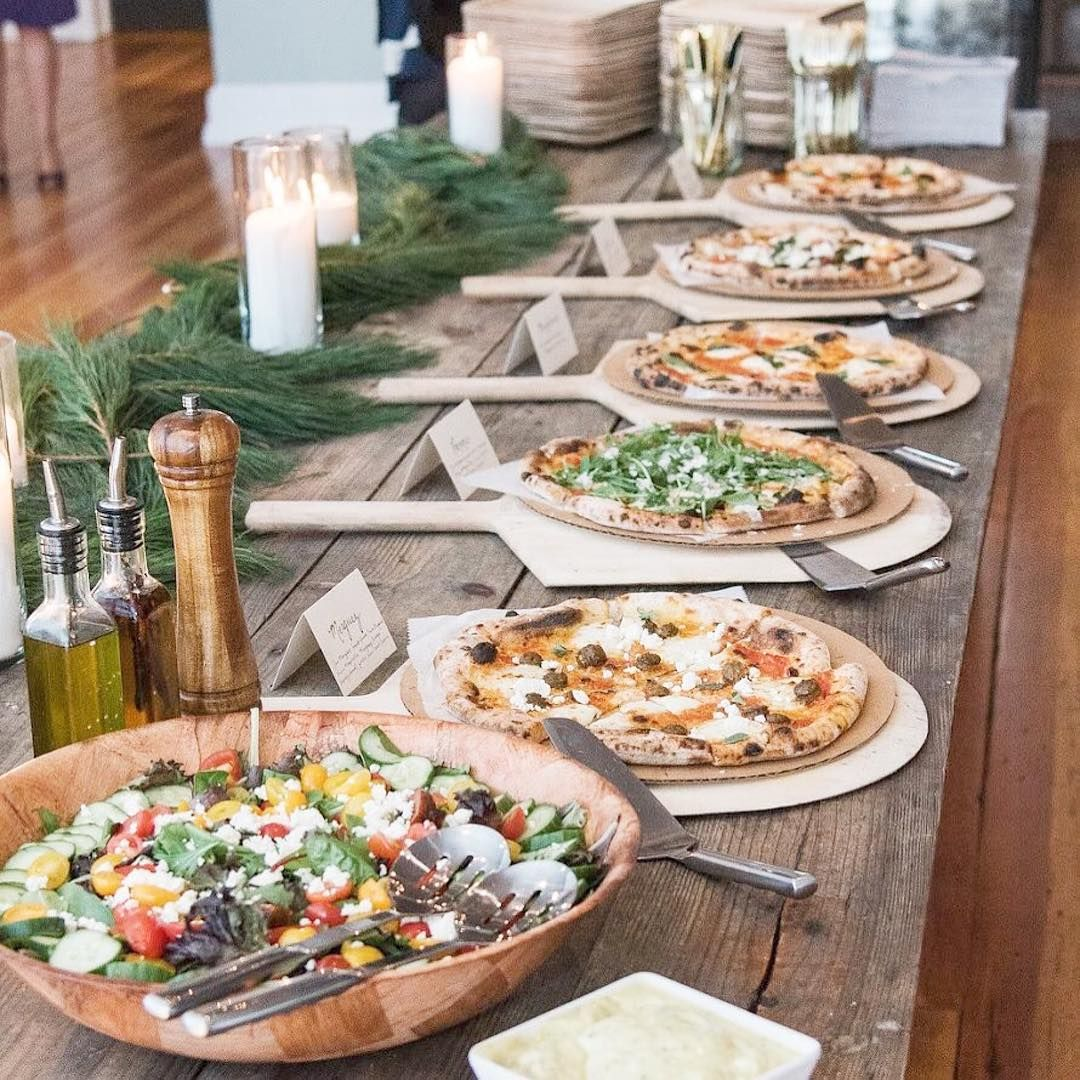Pizza Wedding Reception Ideas: #filetmignon Not In Your #weddingbudget? How About A Pizza
