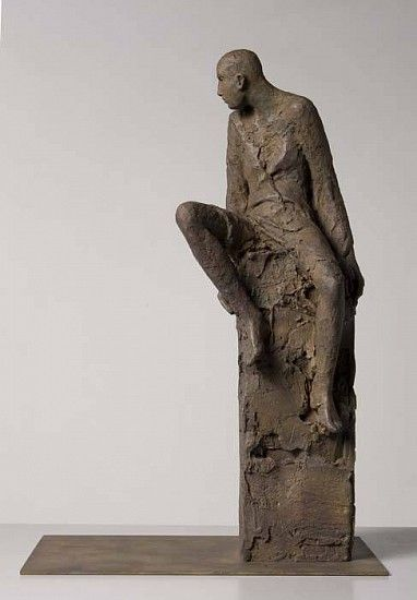Hanneke Beaumont, Bronze #68 2004, Bronze Sculpture