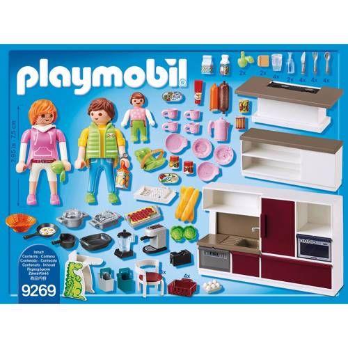 Playmobil City Life leefkeuken 9269 Modern kookeiland