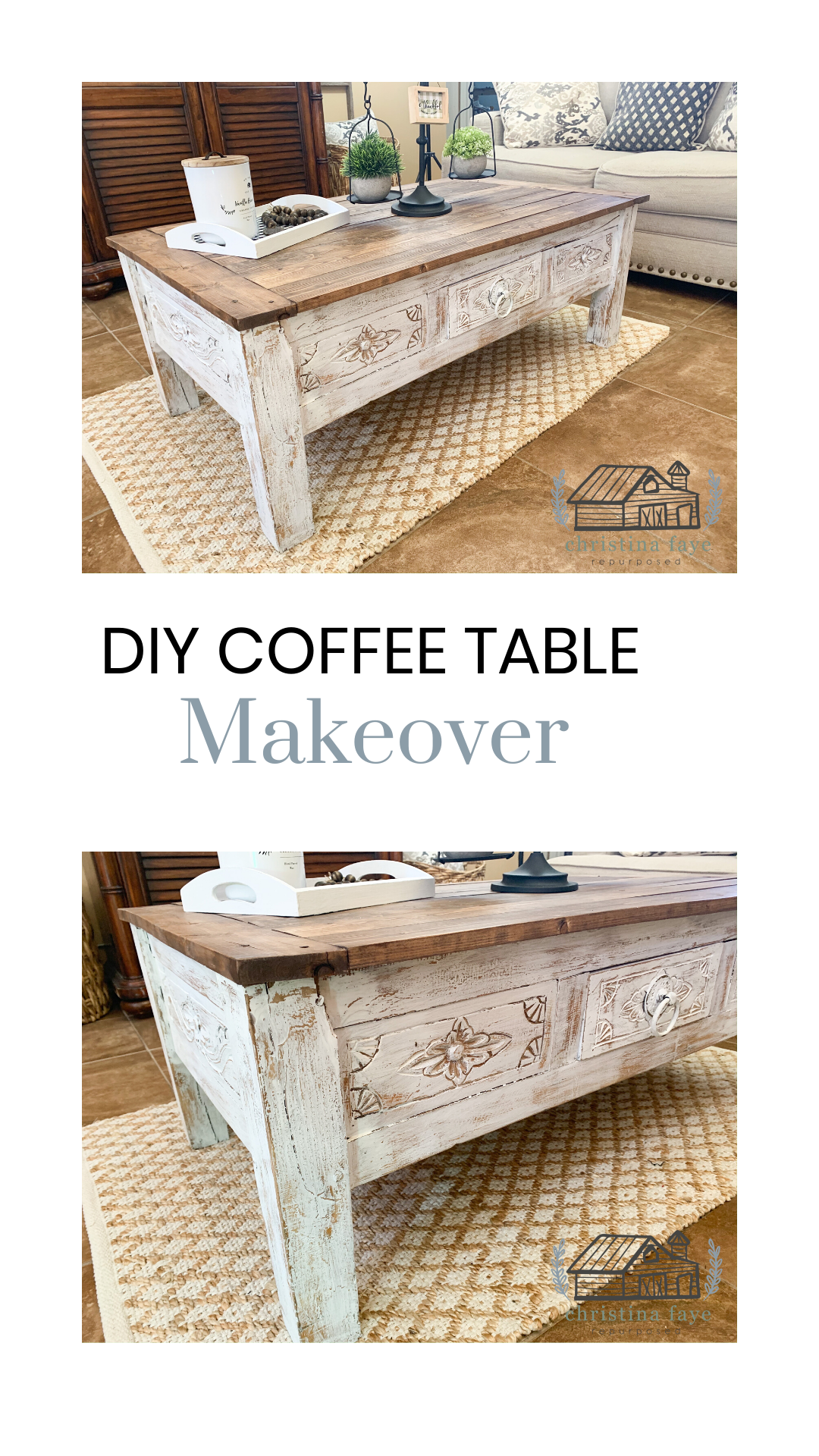 Diy Coffee Table Makeover Diy Coffee Table Coffee Table Makeover Coffee Table [ 1920 x 1080 Pixel ]