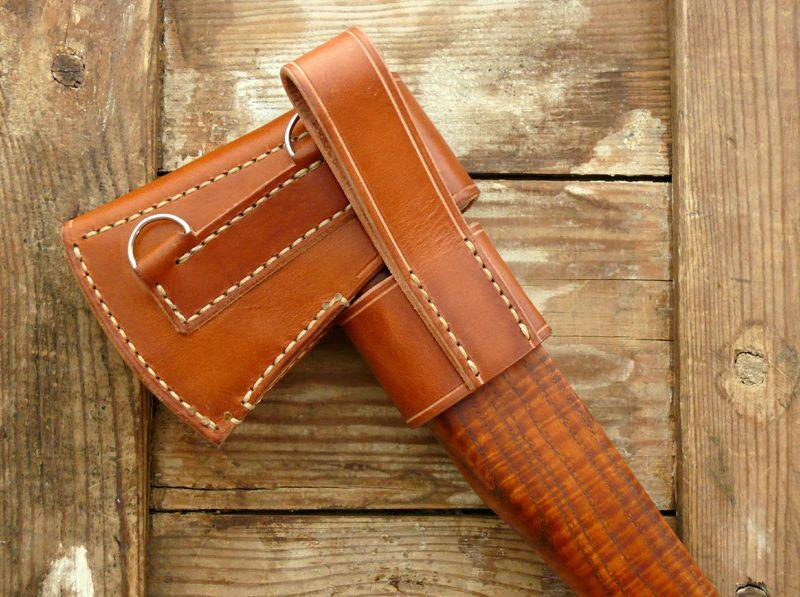 Belt axe sheath with images axe sheath axe leather