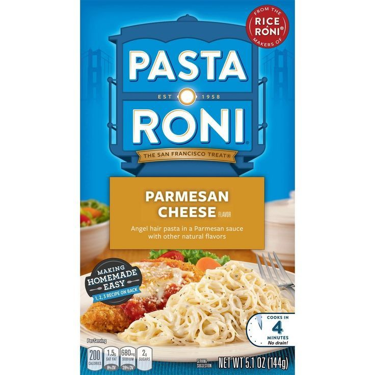 Pasta Roni® Parmesan Cheese Flavored Angel Hair Pasta Mix 5.1oz   - Products -