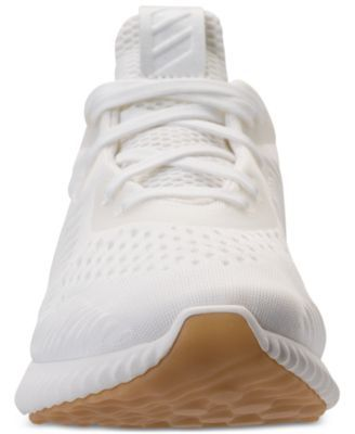 14a20102d adidas Women s AlphaBounce Em Un-Dyed Running Shoes from Finish Line - Gray  6.5