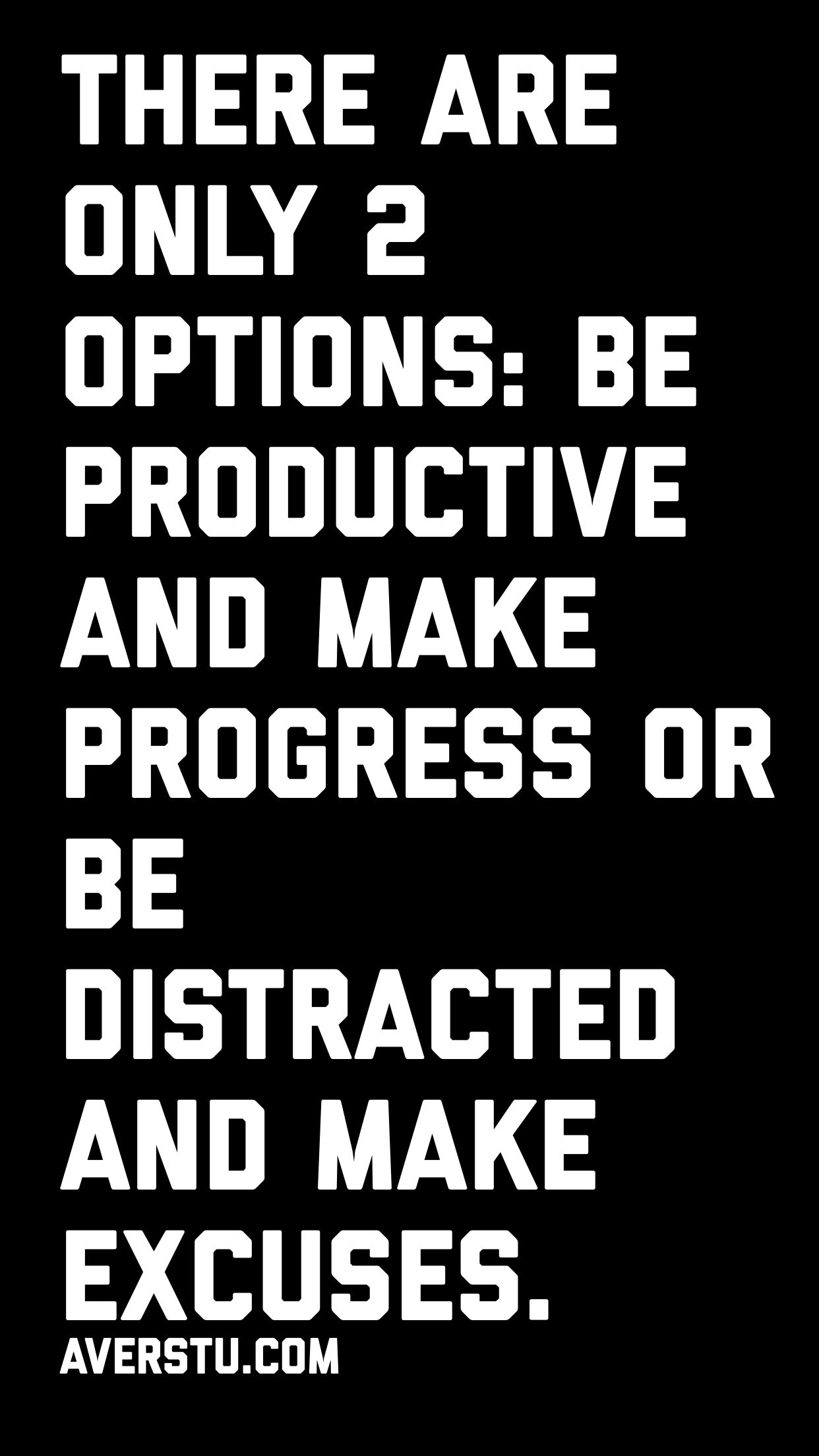 Gotta choose wisely - read simple ways to be productive: