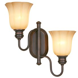 Allen roth 155 in w 2 light dark oil rubbed bronze swing arm allen roth w dark oil rubbed bronze swing arm wall sconce at lowes create plenty of light and a touch of style by placing this wall sconce in your foyer aloadofball