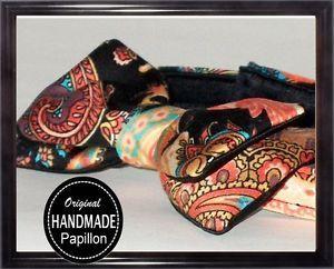 Papillon-Uomo-cravattino-Farfallino-BOW-TIE-adjustable-Artigianale-Pre-tied