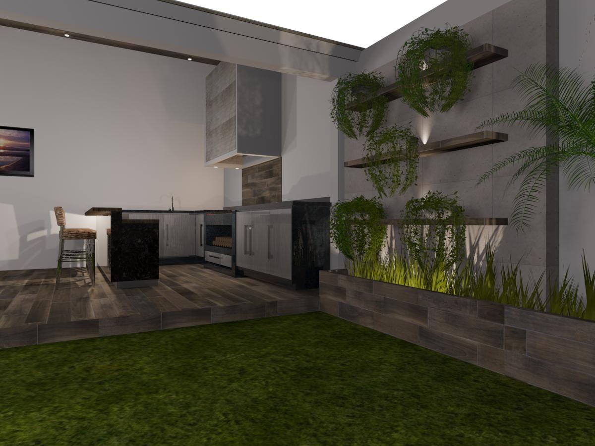Palapa de estilo contempor neo materiales utilizados for Materiales para pisos exteriores