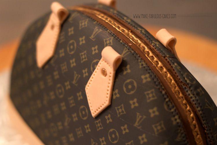 Designer Handbag Cake Tutorial By Make Fabulous