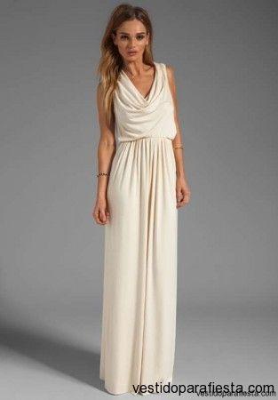 Vestidos largos modernos y elegantes