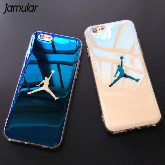JAMULAR Flyman Michael Jordan Étui Souple Pour iphone 7 XS MAX XR ...