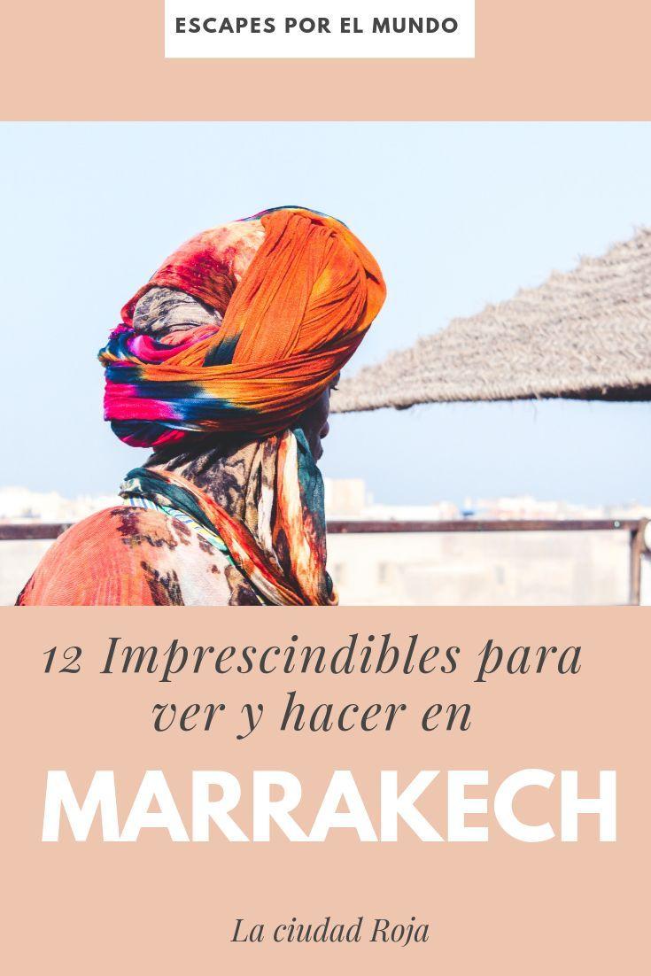 ▷ 【GUÍA 2020】 12 cosas imprescindibles para ver y hacer en MARRAKECH –