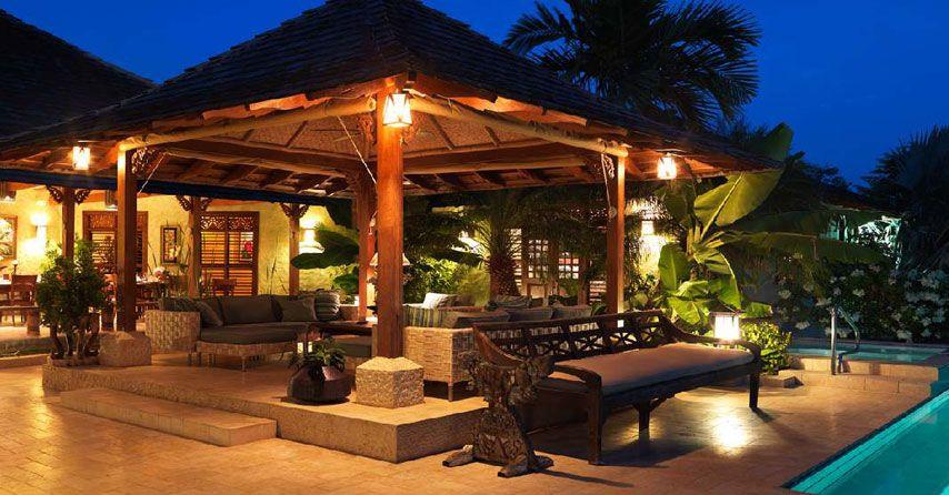 Jamaica Villa Amanoka luxury beach villa Caribbean sfeer