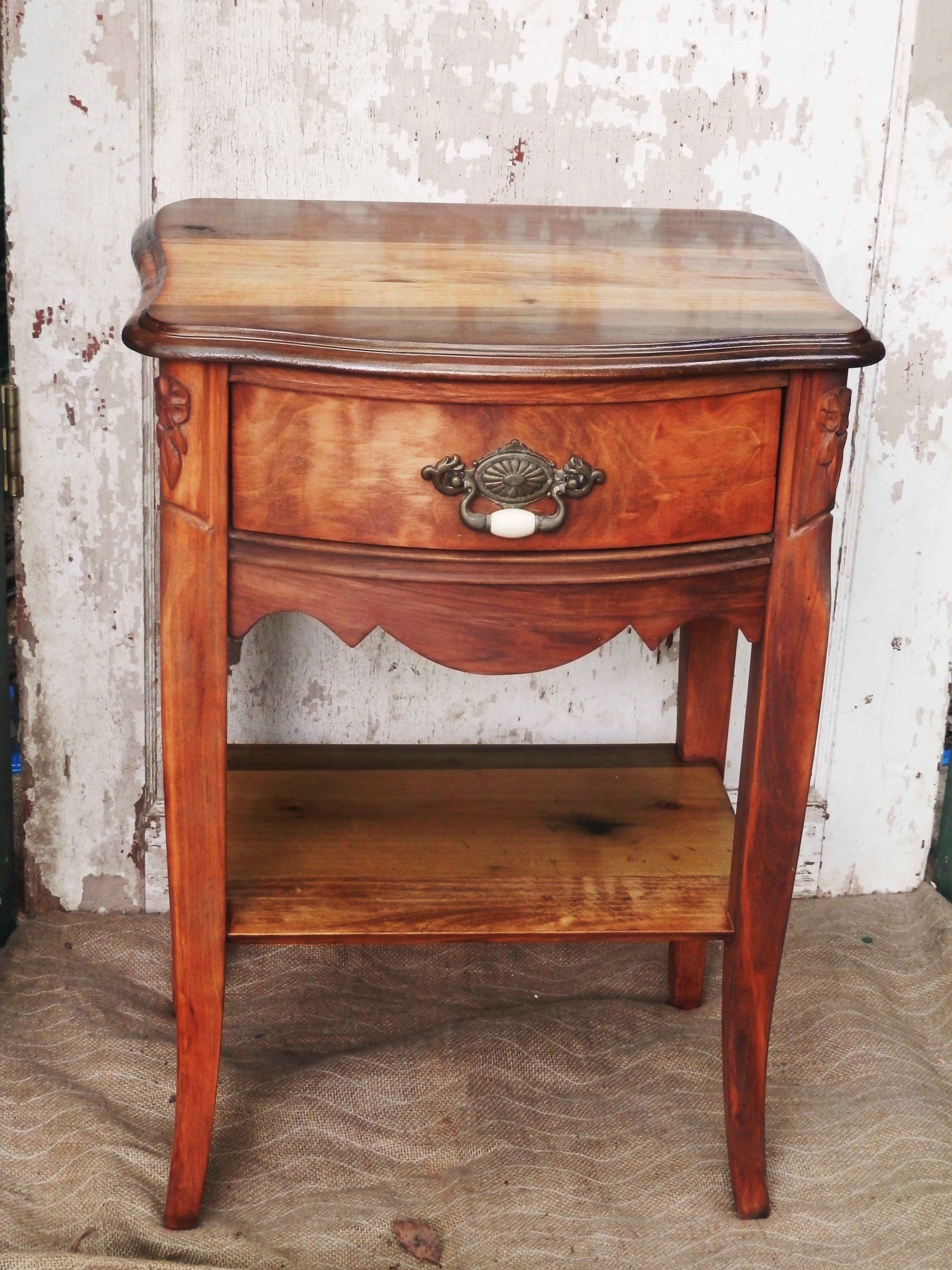 Antique night stand. Barn wood, Nightstand, Furniture