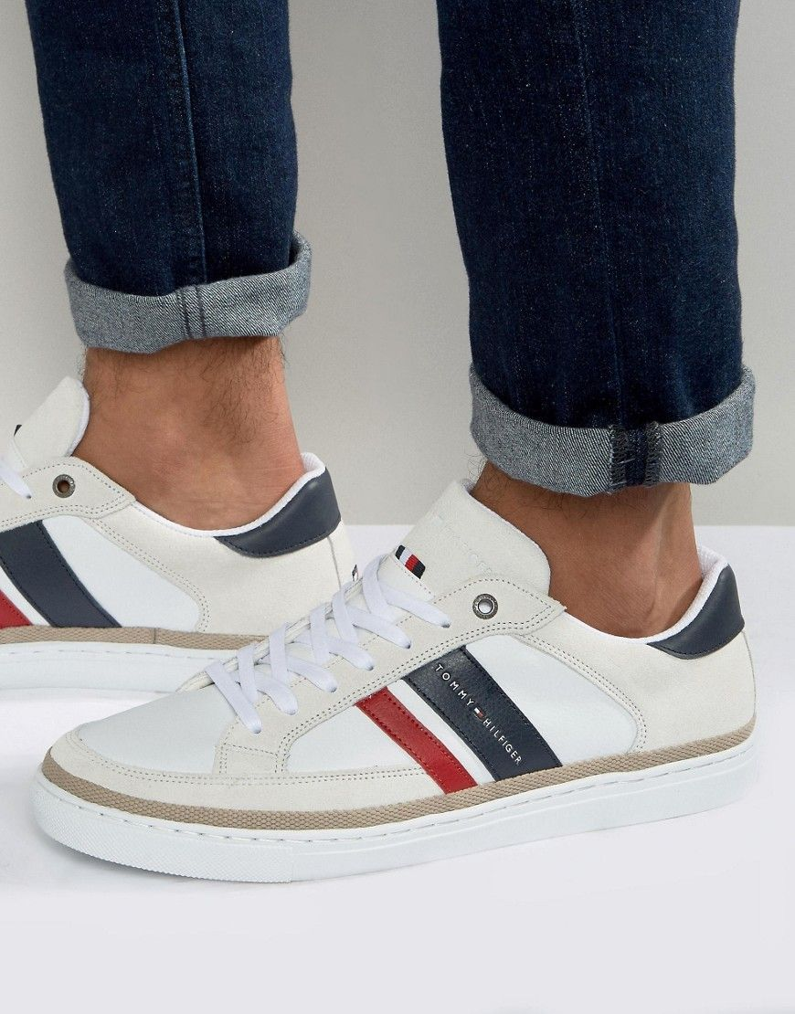 1d03da5a0ada TOMMY HILFIGER MAZE SNEAKERS - WHITE.  tommyhilfiger  shoes ...