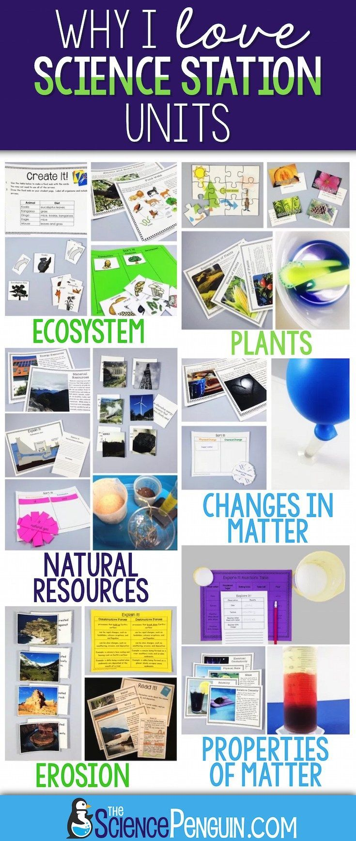 Science Stations Units from | Science Experiments & Fun