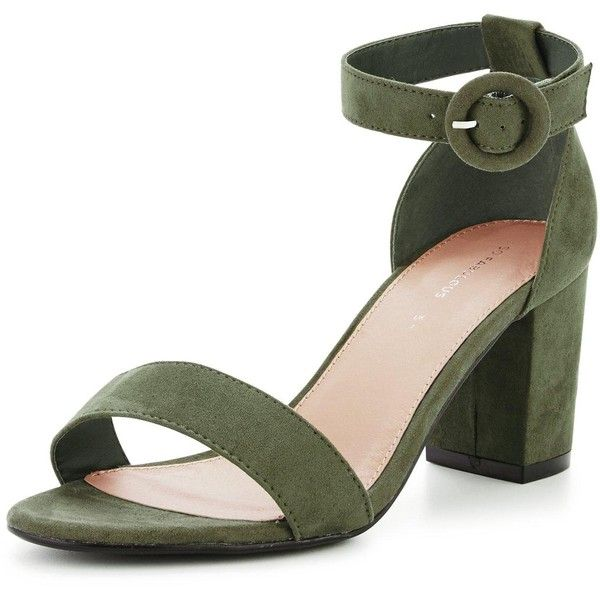 V By Very Extra Wide Fit Block Heeled