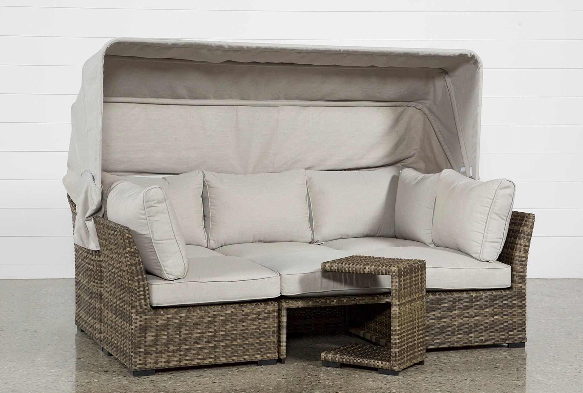 Outdoor Aventura II Daybed | Outdoor daybed, Outdoor ... on Living Spaces Outdoor Daybed id=22750