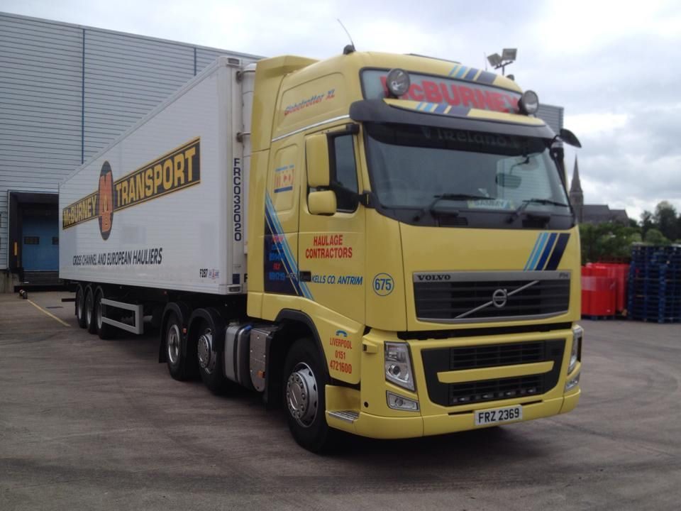 McBurney Transport Volvo trucks, Trucks, Volvo