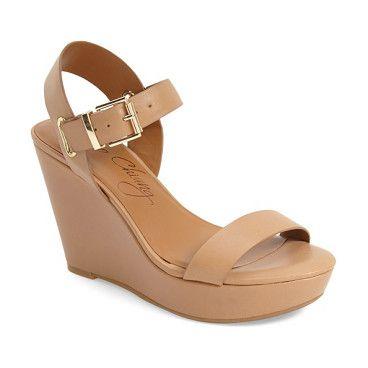 b555e1fe1db2 paulline wedge sandal by Arturo Chiang. Polished