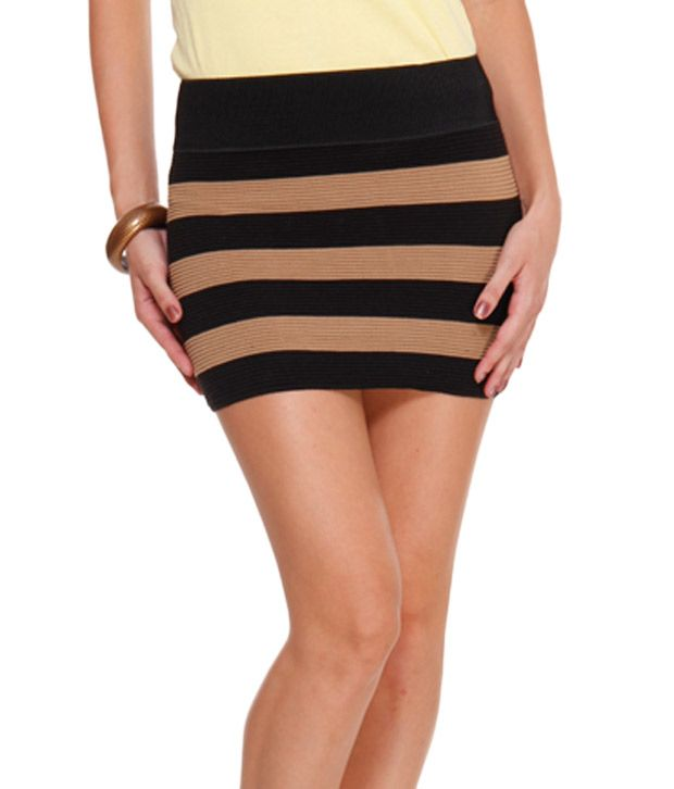 Womens Brown Skirt - Dress Ala