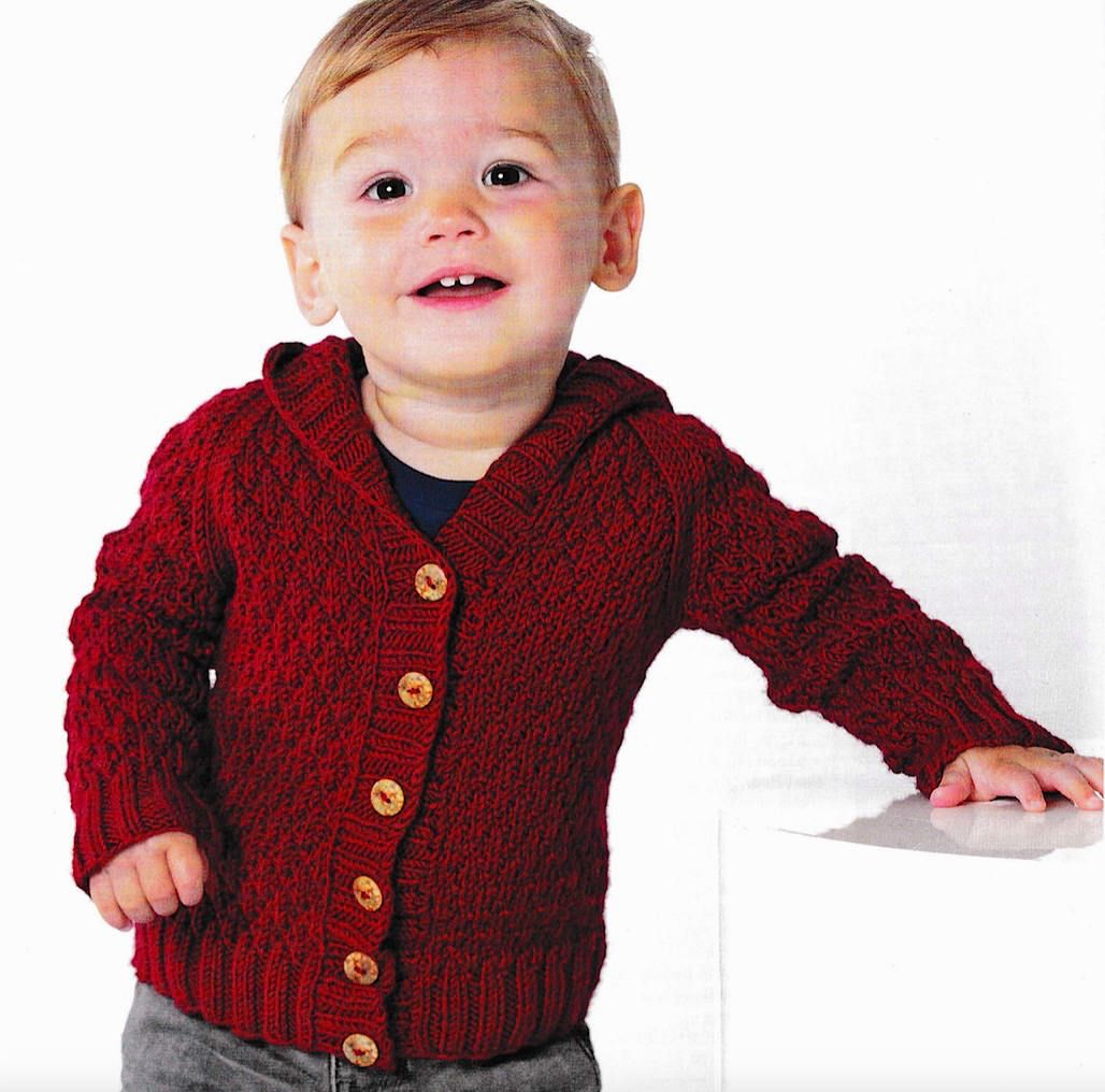 6a4f66e14ae1 Cardigan knitting PATTERN