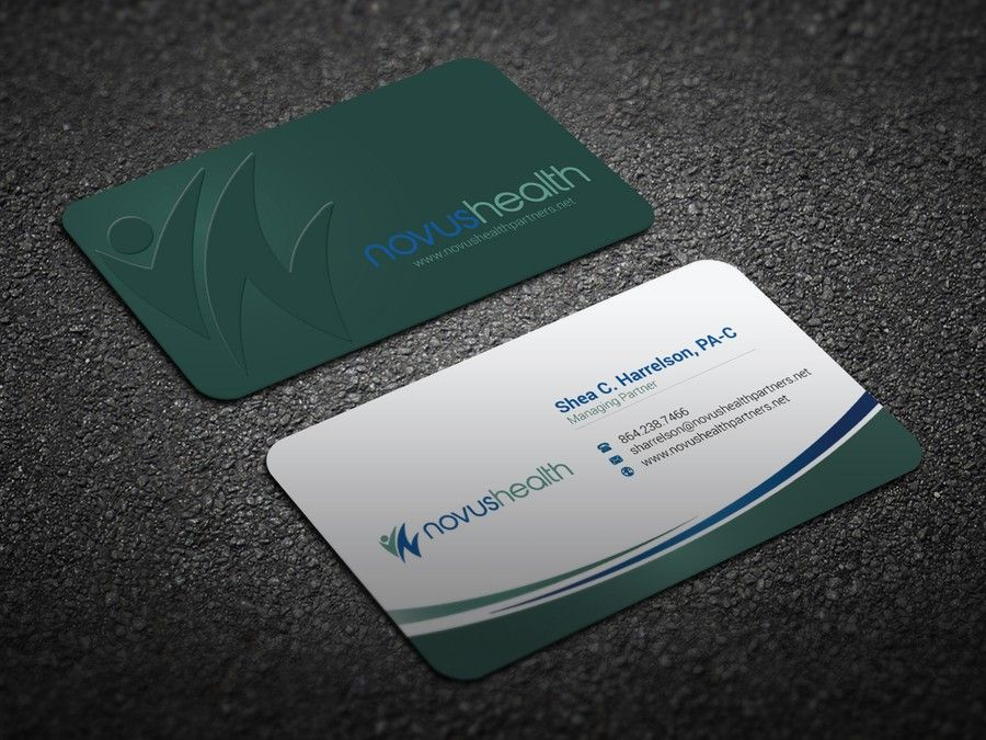 Medical Sales Organization Business Card by m.r.J_44   I need this ...