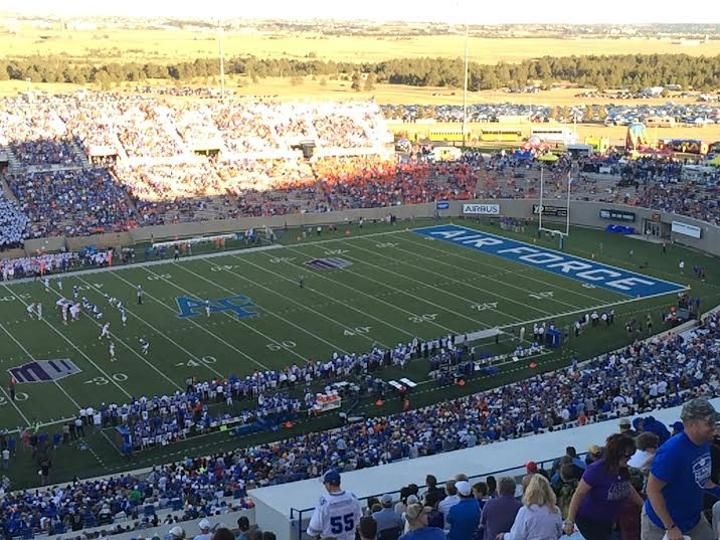 Reviews And Information About Falcon Stadium Home Of The Air Force Falcons Stadium Air Force Air Force Academy