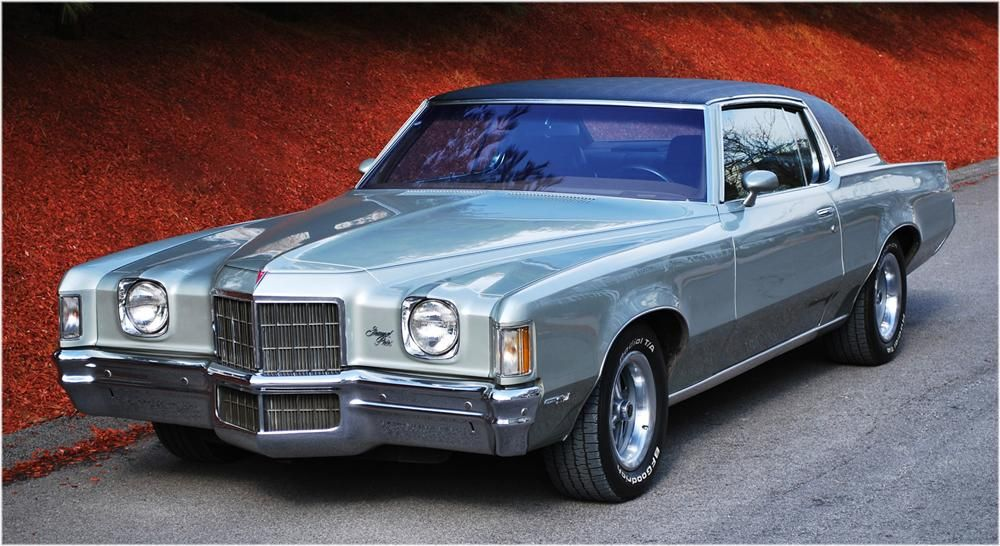 1972 PONTIAC GRAND PRIX 2 DOOR COUPE – Barrett-Jackson Auction Company – World's Greatest Collector Car Auctions