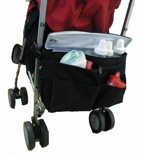 Baby Stroller Accessories Stroller Bag Organizer Carriage Net Bag Wheelchair New
