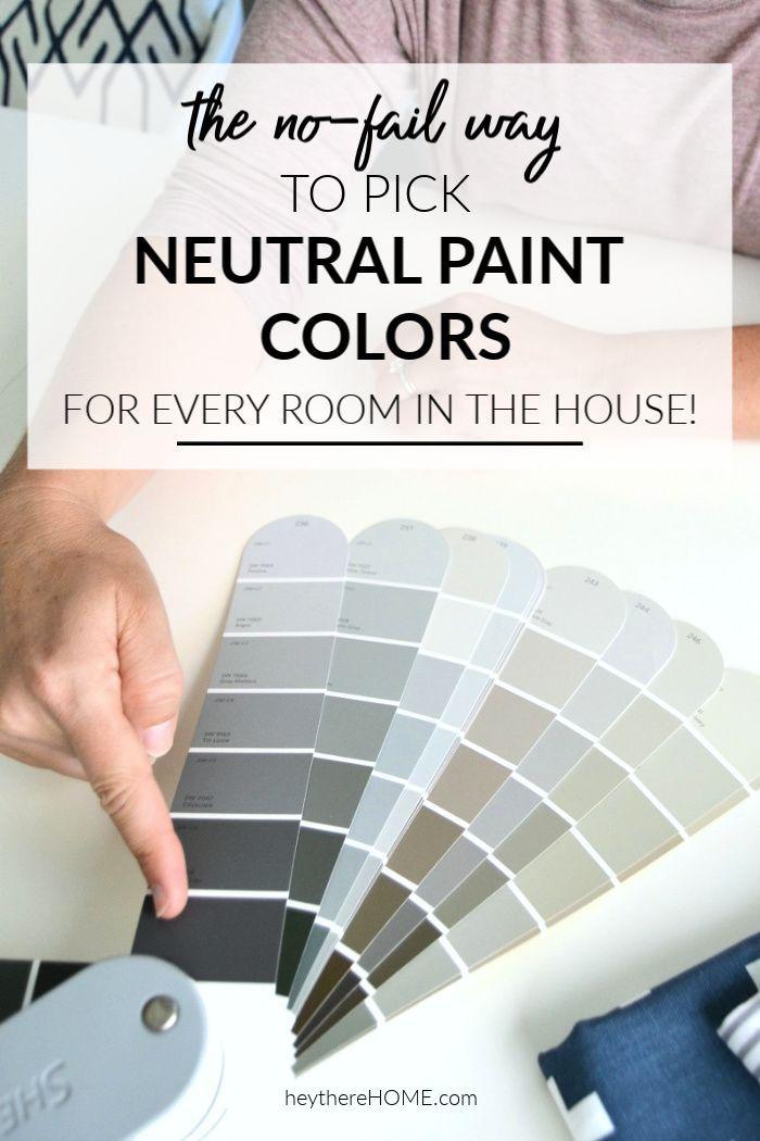 Never choose the wrong wall color again!  #paint #paintcolor #neutralpaint #decor #decoratingideas #diy #diyhomedecor #homedecor #homedecorideas #diydecor #renovation #design #homeimprovement #walldecor  via @heytherehome