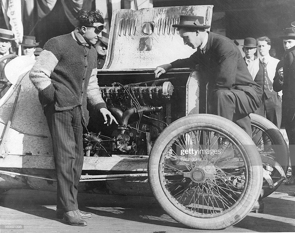 Dario Resta drove this Peugot to victory in the William K