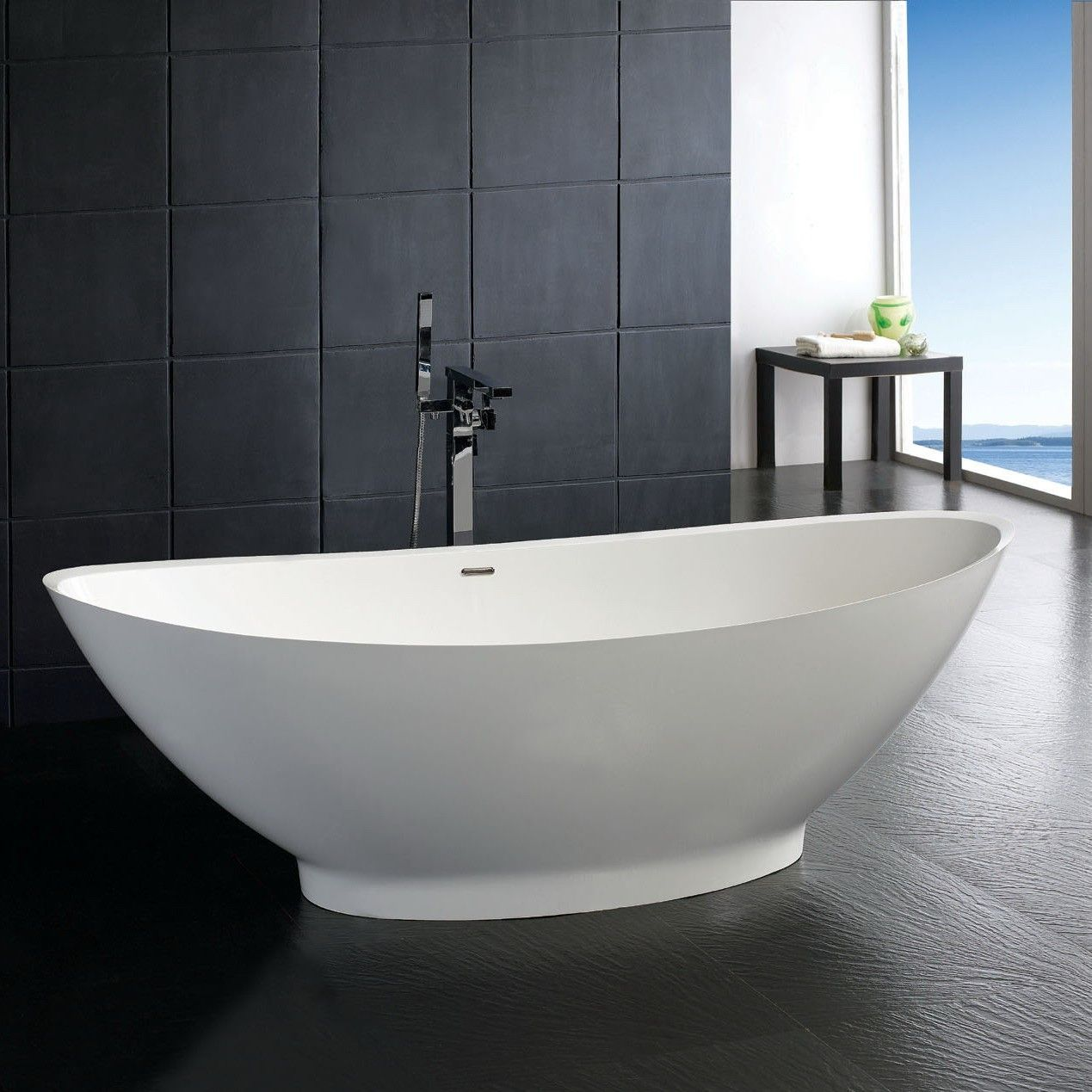 Stone Resin Soaking Bathtubs 72 Inches Long With Images Free