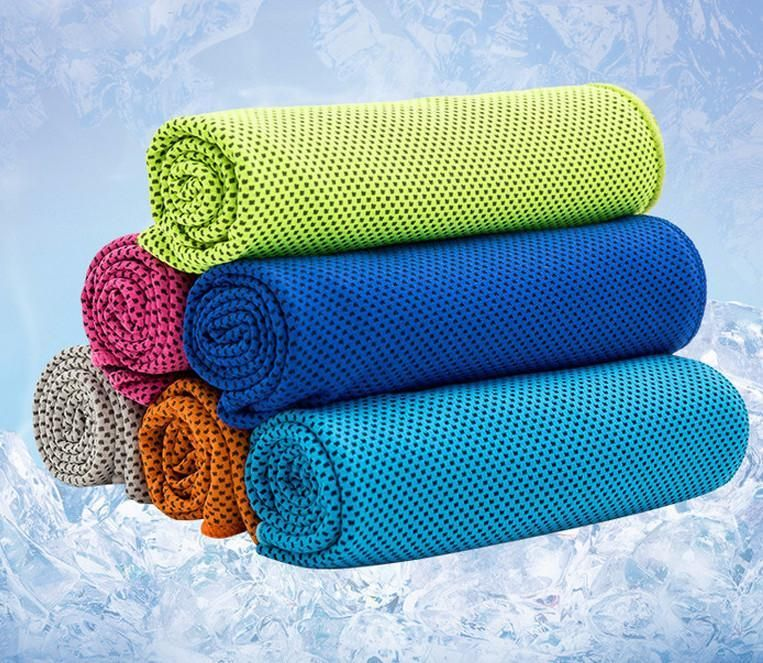 Ice Cooling Sports Towel Super Cool Offer Towel Gym Towel