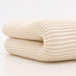 Cuddles Collection Cot Bed Cellular Blanket Cream Soft Cotton Lightweight In Baby Nursery Bedding Blankets Throws