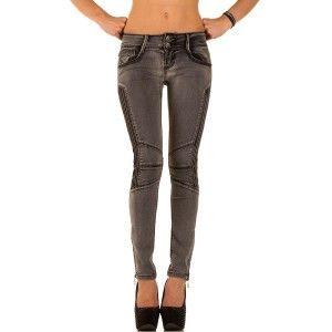 dames biker jeans