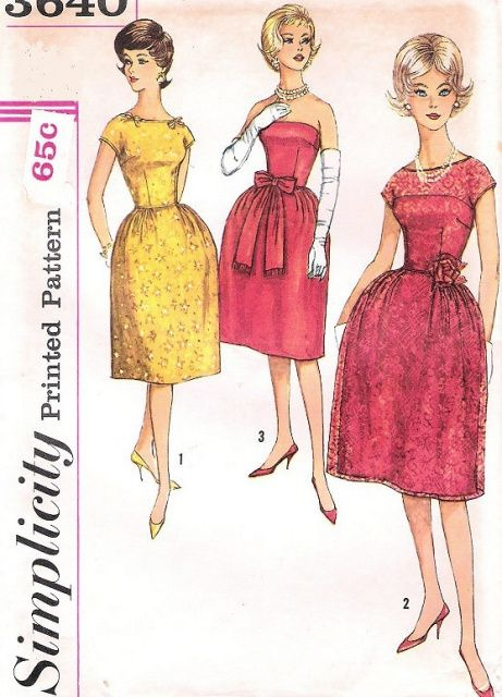 1000  images about Vintage sewing patterns...60s on Pinterest ...