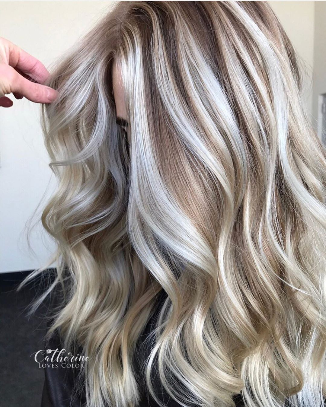 Best Of Balayage Hair On Instagram Monday Motivation Painted And Lowlighted To Perfection By Catherinelovescolor Hair Styles Balayage Hair Low Lights Hair