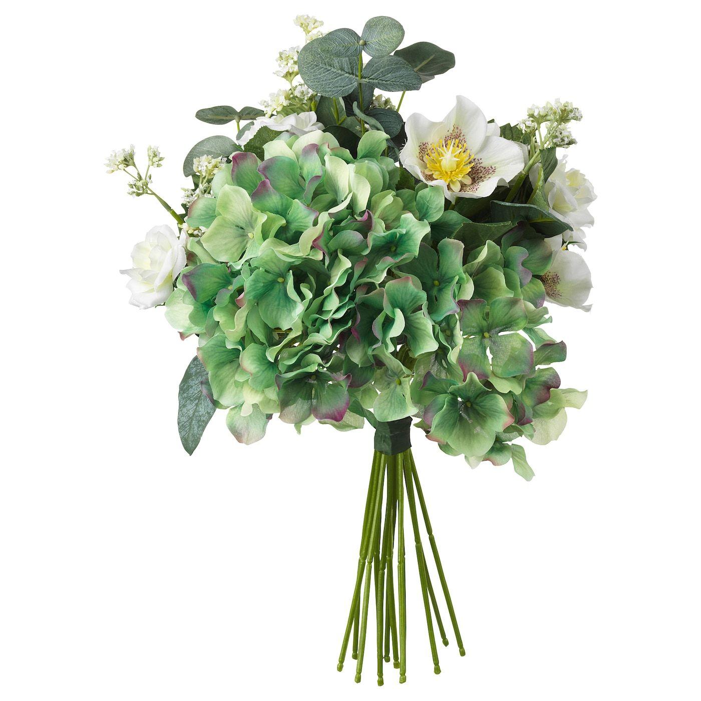 Smycka Artificial Bouquet White Ikea In 2020 Artificial Bouquet Artificial Potted Plants Artificial Flower Bouquet
