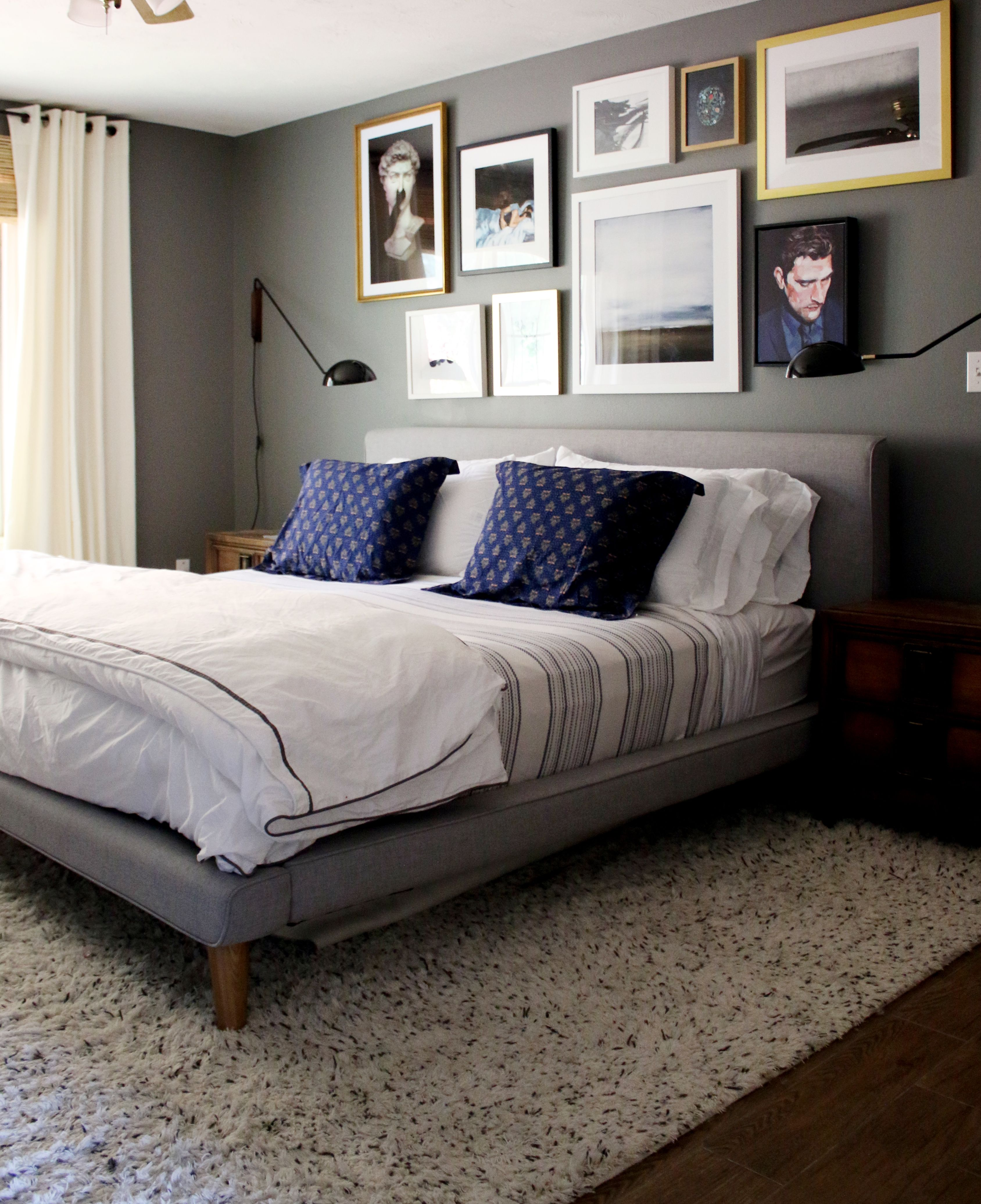 A Gallery Wall in the Master Bedroom + Tips on Creating Your Own ...