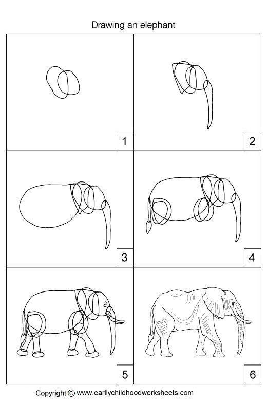 Dessin d 39 un l phant dessine moi un mouton pinterest dessin dessine moi et mouton - Dessin d un elephant ...