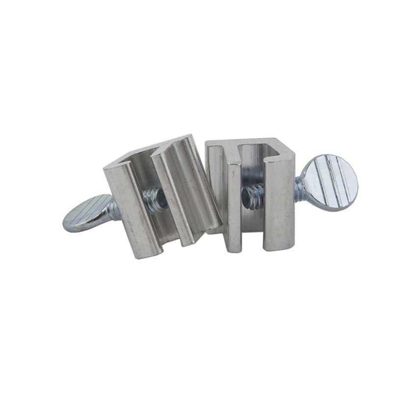 Ikonic Aluminium Sliding Window Lock 2 Pack Sliding