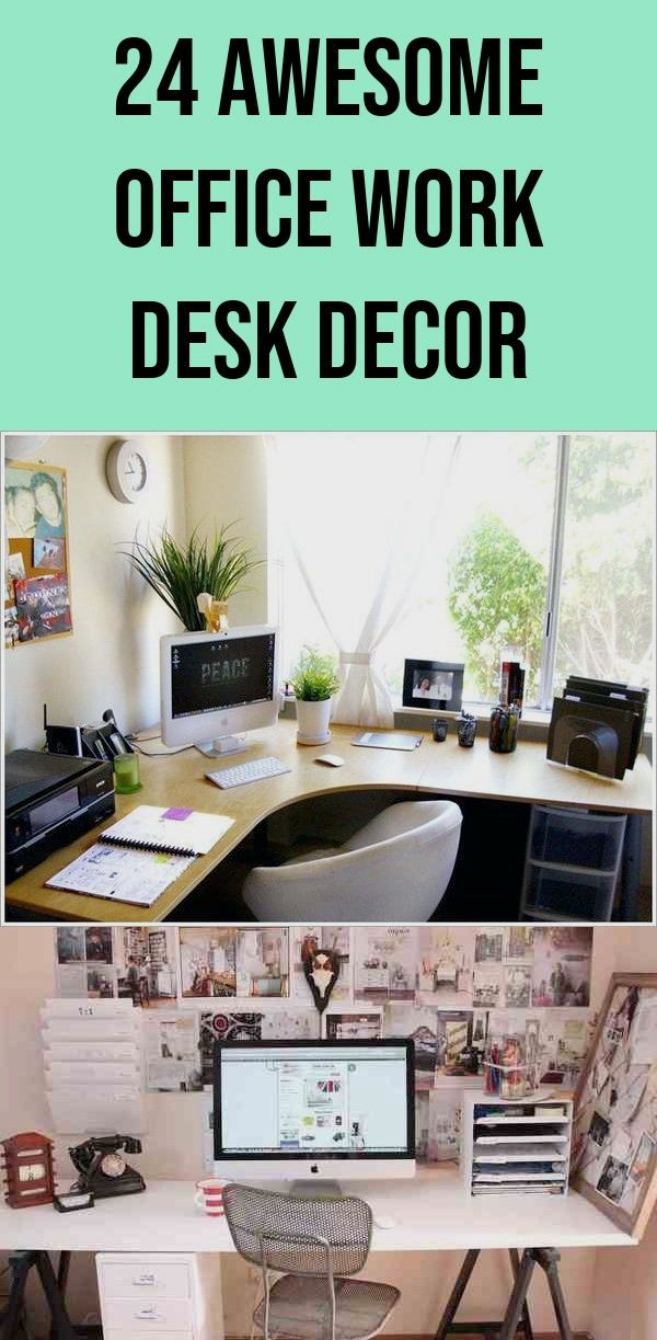 First Rate Office Work Desk Decor Professional 24 Awesome Office