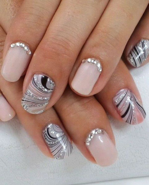 48 best wedding nail art design ideas wedding nails art 48 best wedding nail art design ideas prinsesfo Gallery